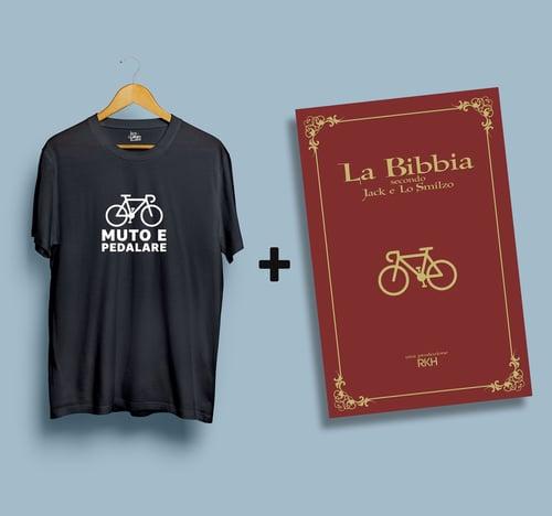 Image of SPECIAL PACK LA BIBBIA secondo Jack e Lo Smilzo + T-Shirt