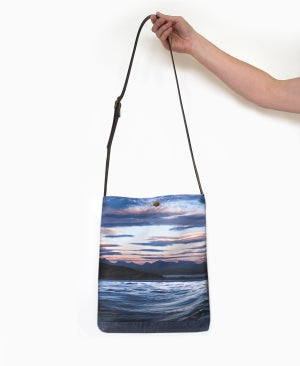 Image of Sunset clouds tote bag