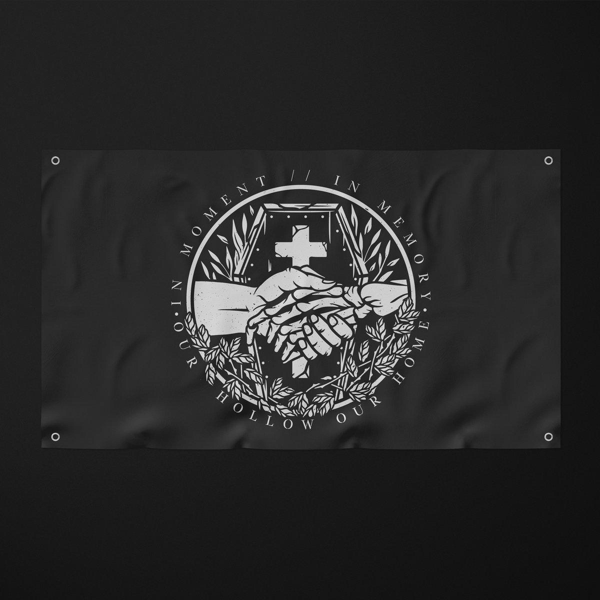 Image of 'IM//IM' EMBLEM WALL FLAG