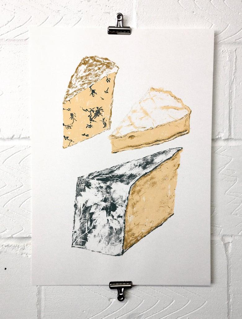 Image of British Cheeses