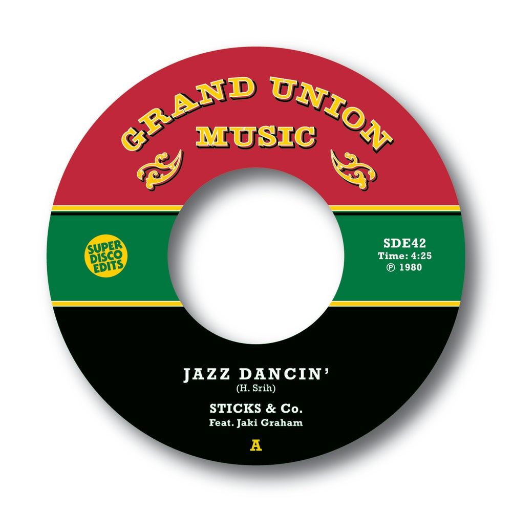 "Sticks & Co feat Jaki Graham ""Jazz Dancin""/""Jazz Funkin"" Grand Union Music"