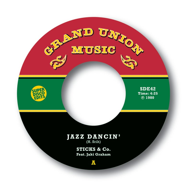 "Image of Sticks & Co feat Jaki Graham ""Jazz Dancin""/""Jazz Funkin"" Grand Union Music"