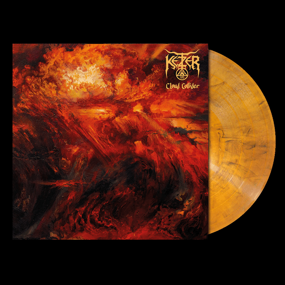 Image of PRE ORDER: Cloud Collider LP – Amber Vinyl (Gold)