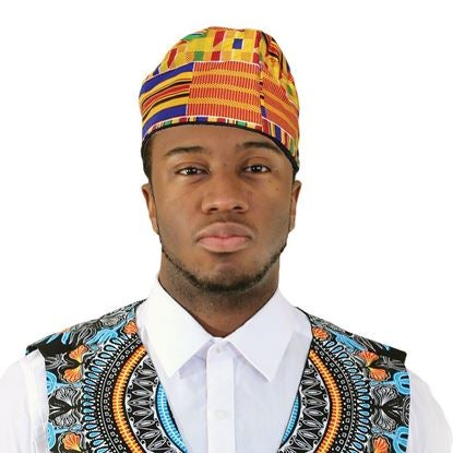 Image of Kente Kufi Hat