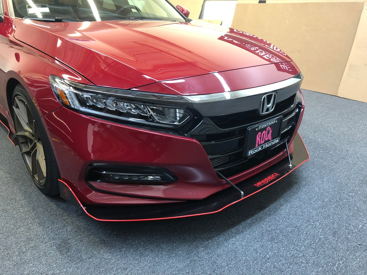 Downforcesolutions 2018 2019 Honda Accord Front Splitter