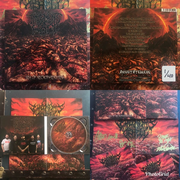 Image of Sea of Necrophenomena - LIMITED EDITION DIGIPACK
