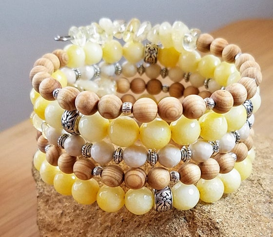 Image of Spring Statement Bracelet in Yellow