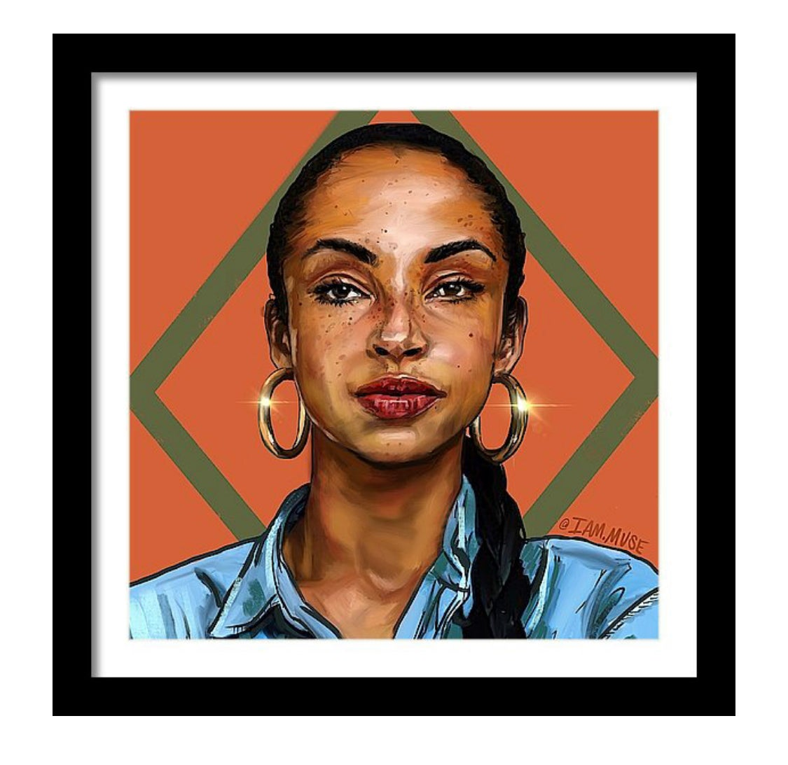 "Image of ""Sade Adu"" Limited Edition Prints"