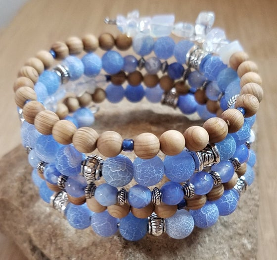 Image of Spring Statement Bracelet in Blue