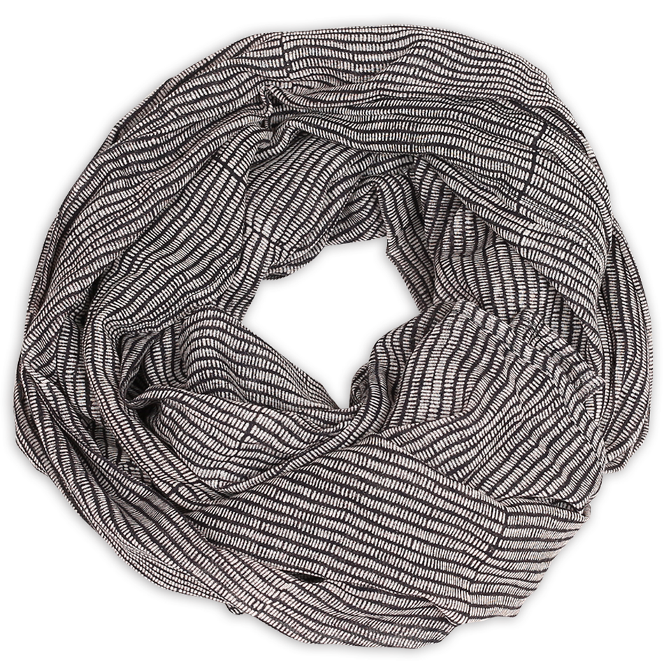 Image of Alice Stripes Midnight Scarf
