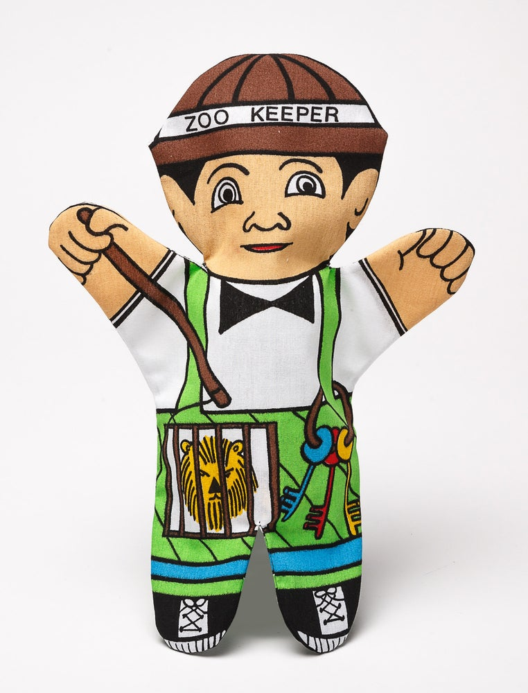 Image of Zoo Keeper Puppet