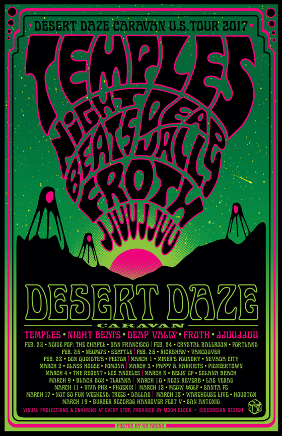 Image of CLEARANCE- Desert Daze Caravan 2017 by Kii Arens