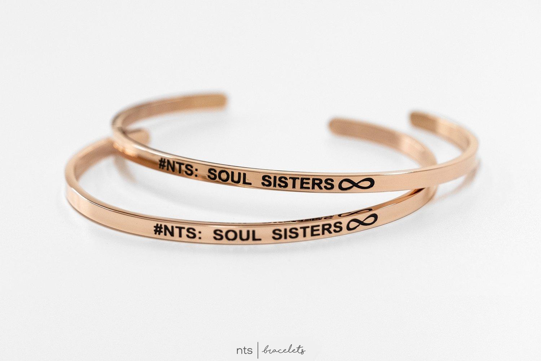 Image of #NTS: SOUL SISTERS (BUNDLE-2 BRACELETS)
