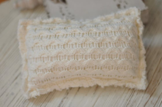 Image of Knit sweater pillow