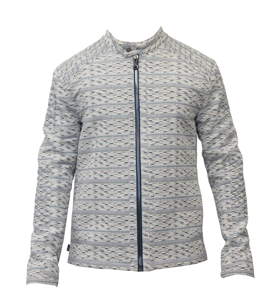 Image of Quilted Jaquard Aviator