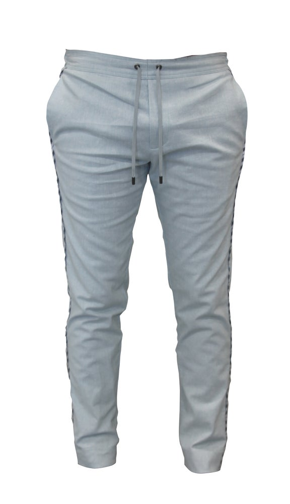 Image of Solid Linen Pants