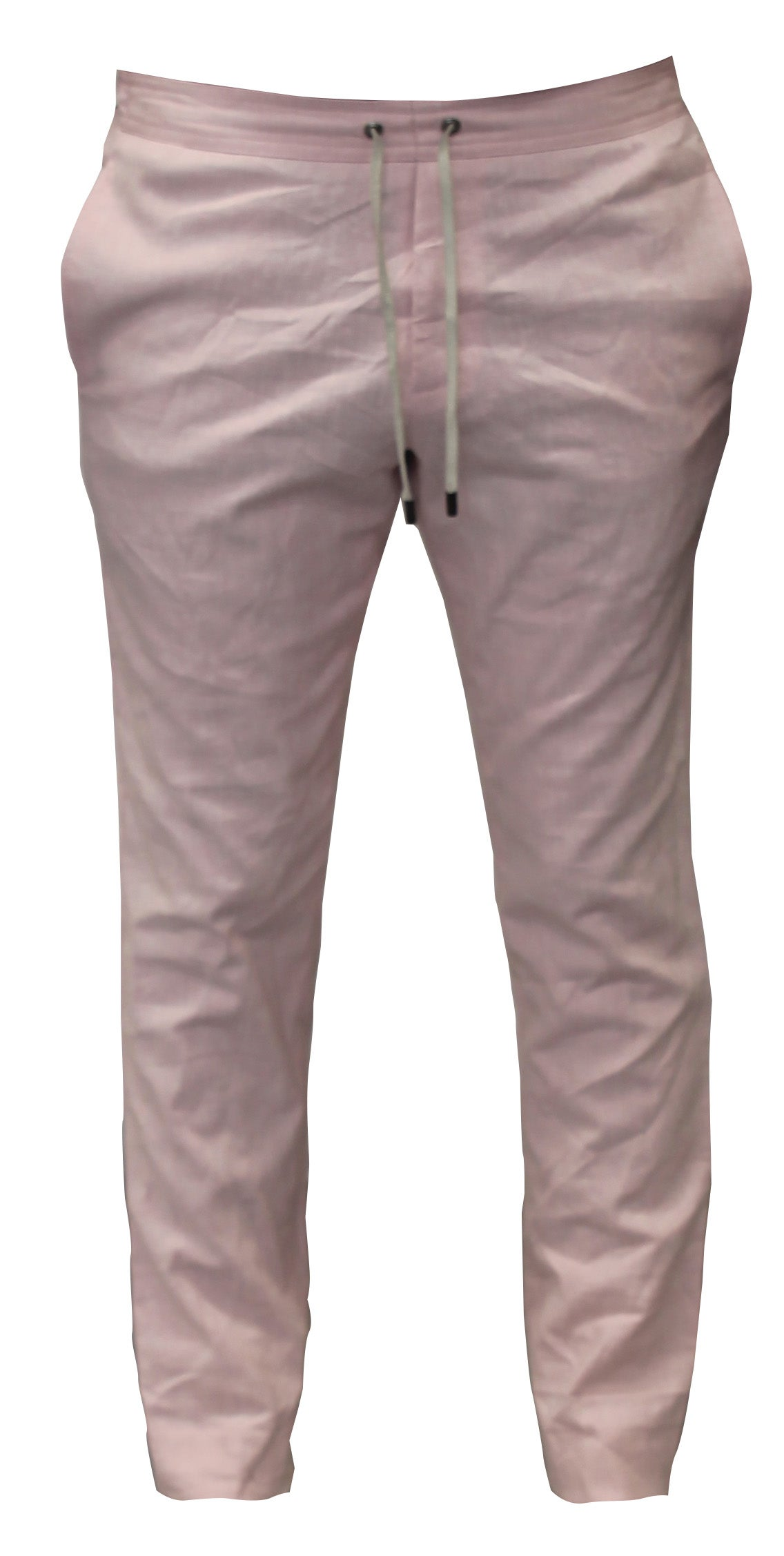 Image of Solid Pink Linen Pant