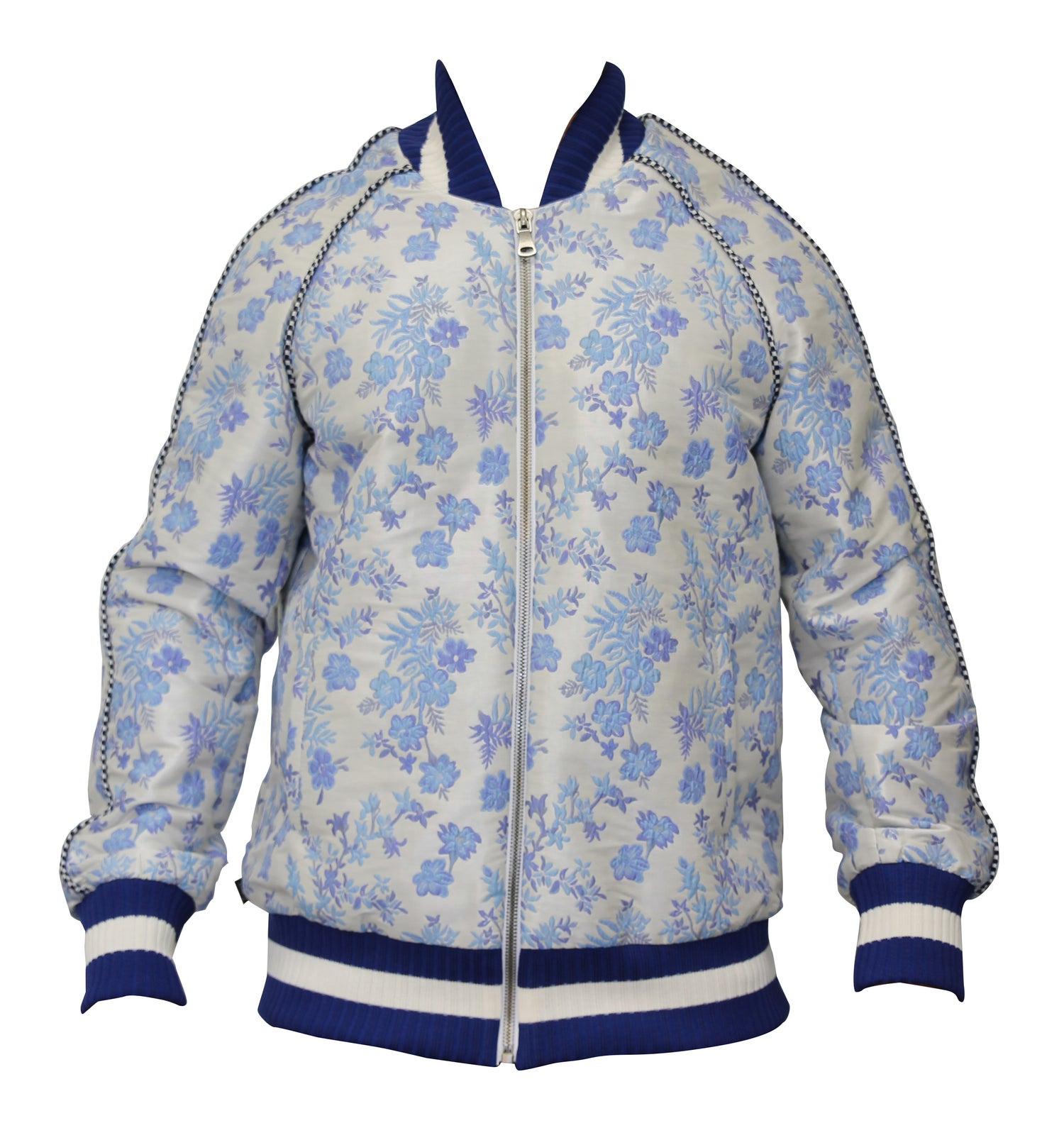 Image of Jaquard Baseball Jacket