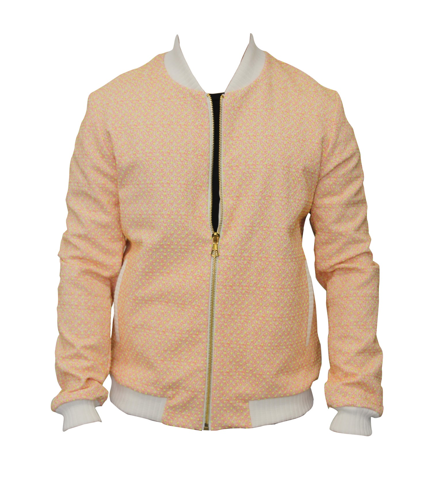 Image of Texture Jacquard Bomber