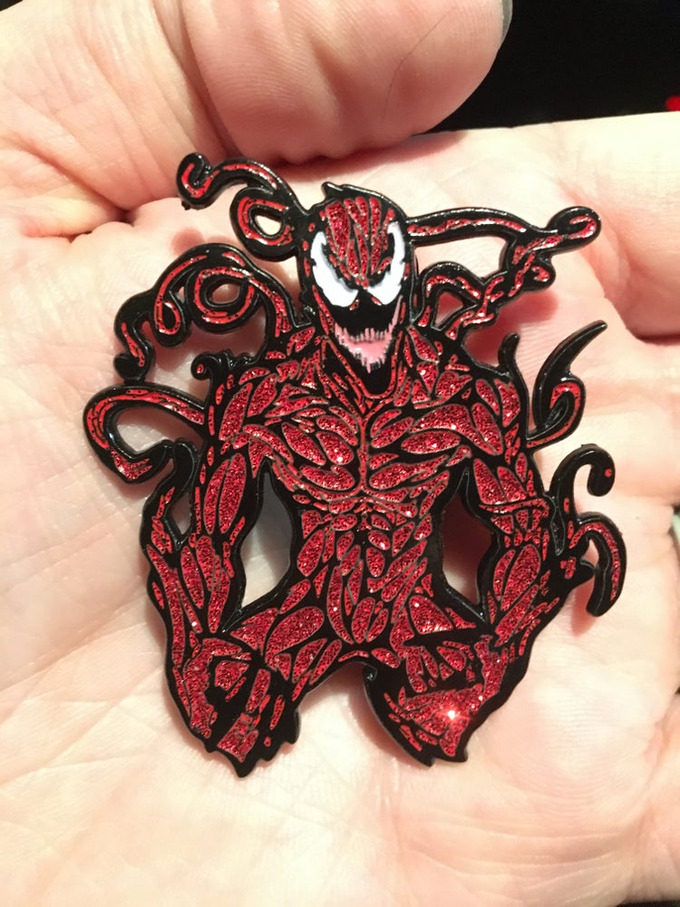 Image of Carnage Enamel Pin