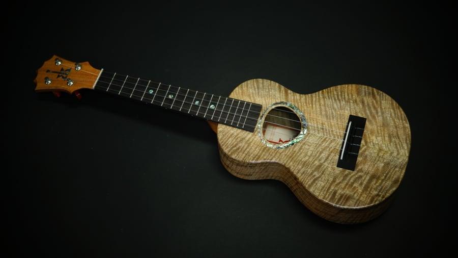 Image of KoAloha Custom Order Concert Curly Mango Rosette