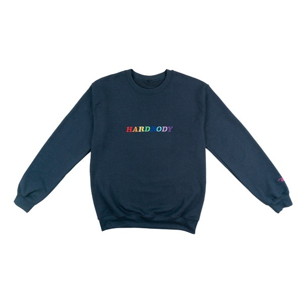 Image of HARDBODY RAINBOW CREWNECK
