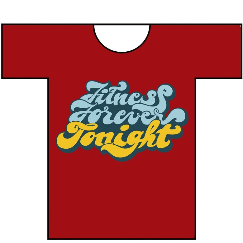 Image of Fitness Forever T-Shirt - Cherry Red