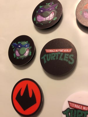 Image of TMNT Pop Sockets (ALL 7)