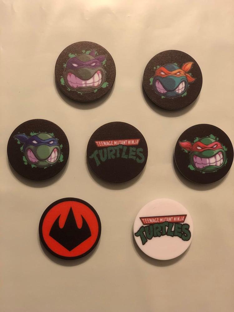 Image of TMNT Pop Sockets (ALL 7)