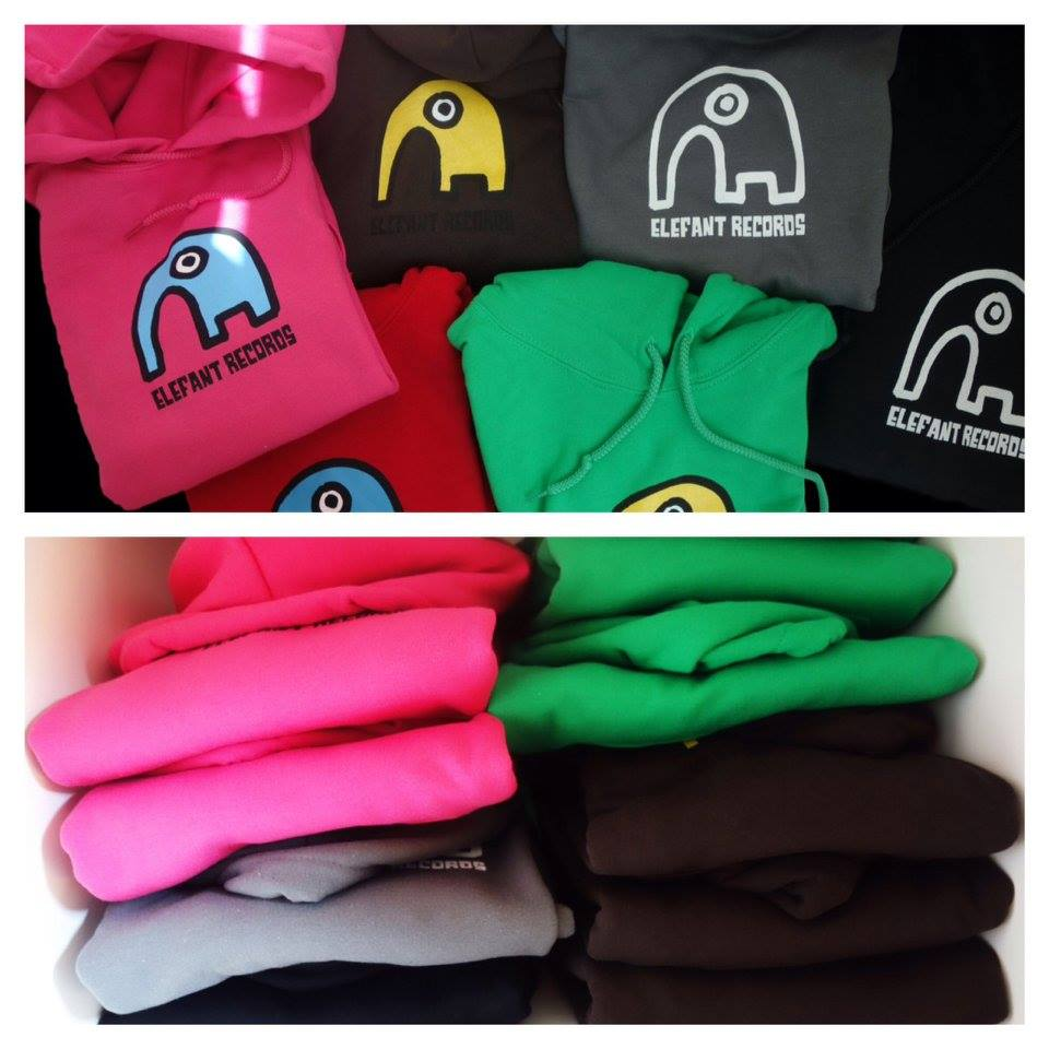 Image of ELEFANT HOODIE: DARK GREEN (Kids' Size) Limited Edition