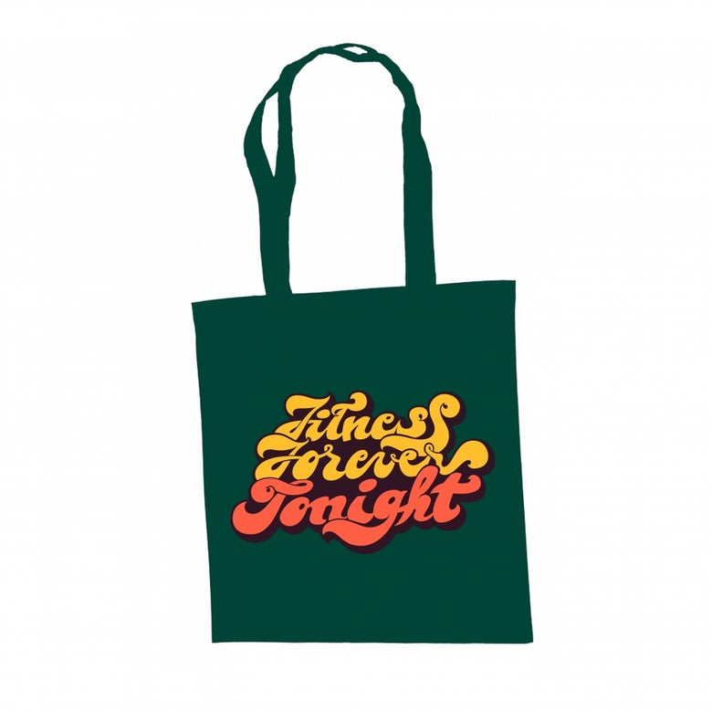 Image of FITNESS FOREVER TOTE BAG