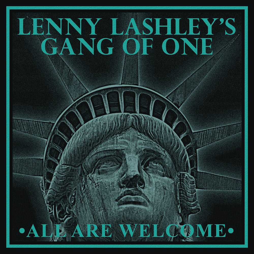 Image of *NEW* Lenny Lashley's Gang of One - All Are Welcome LP (Cokebottle/gold vinyl)