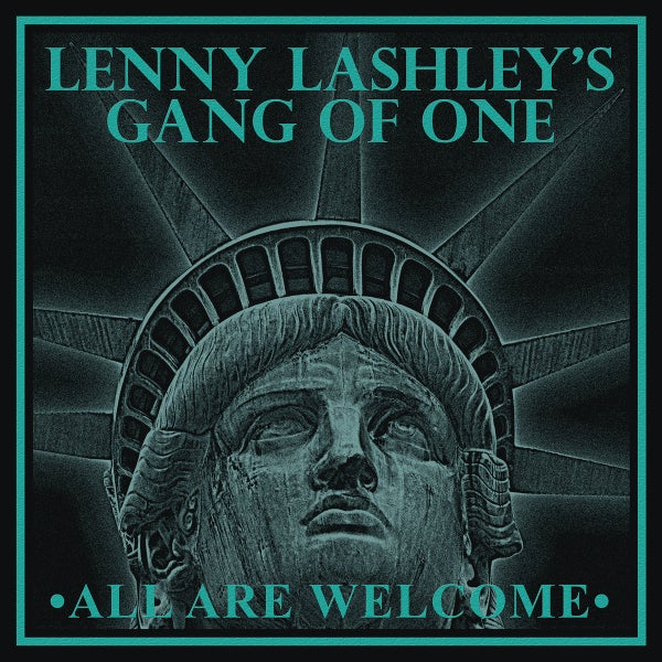 Image of Lenny Lashley's Gang of One - All Are Welcome LP (Cokebottle/gold vinyl)