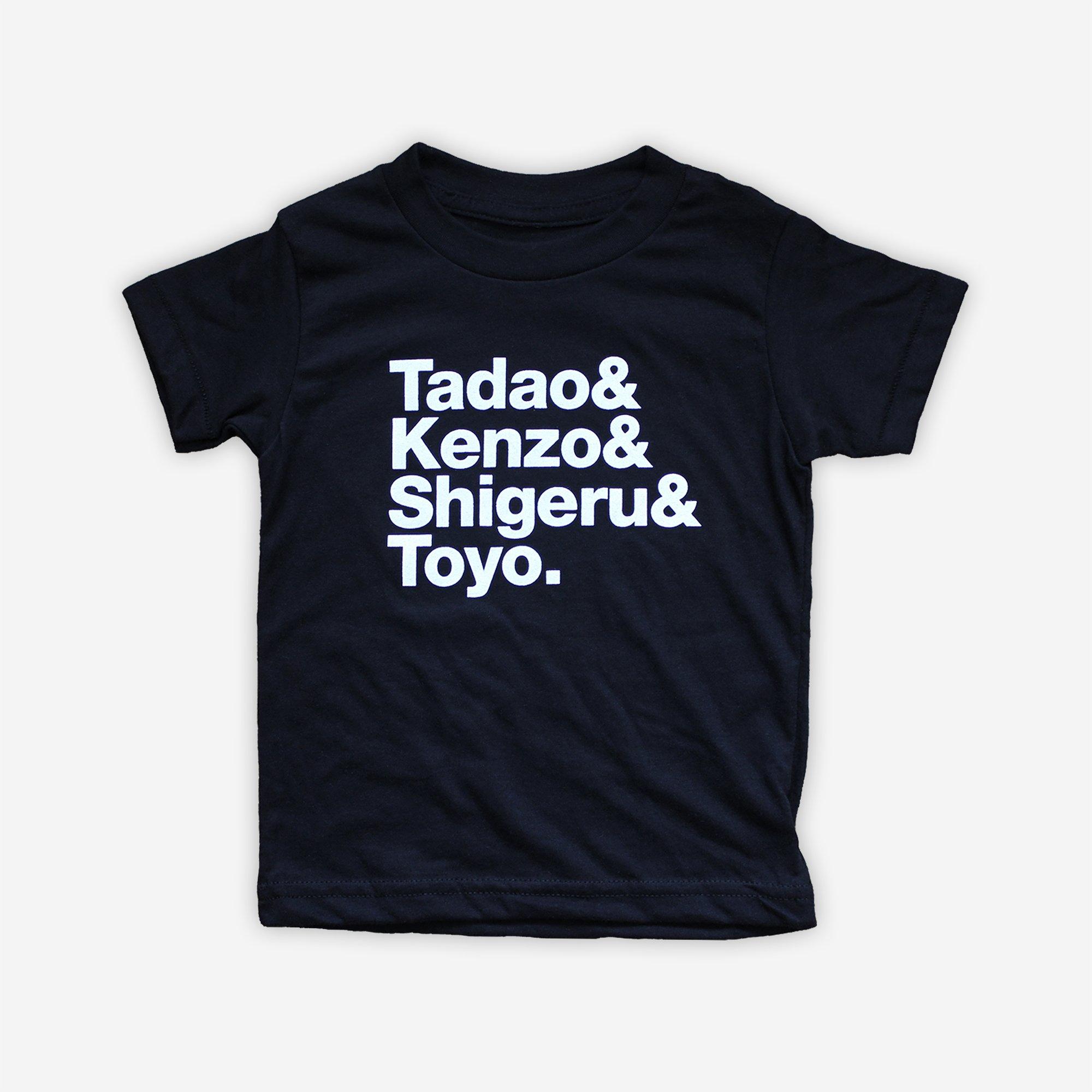 Image of Tadao & Kenzo & Shigeru & Toyo. - tee
