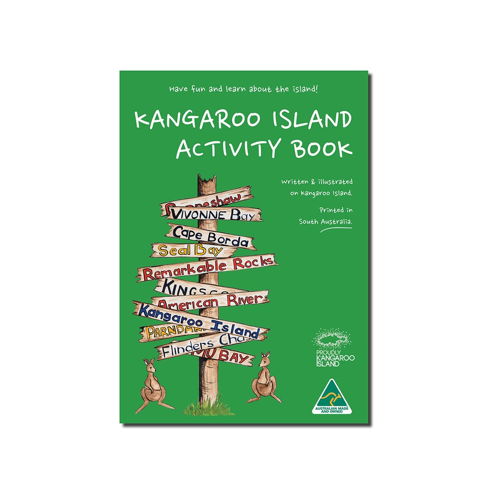 Image of Kangaroo Island Activity Book - A5