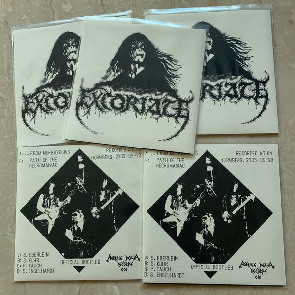 "Image of EXCORIATE ""Live"" 7""EP"
