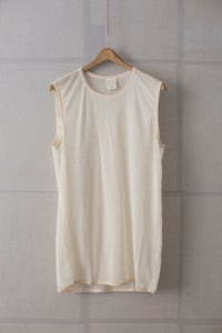 Image of TANKTOP#13 - NATURAL WASHI JERSEY by Jan-Jan Van Essche