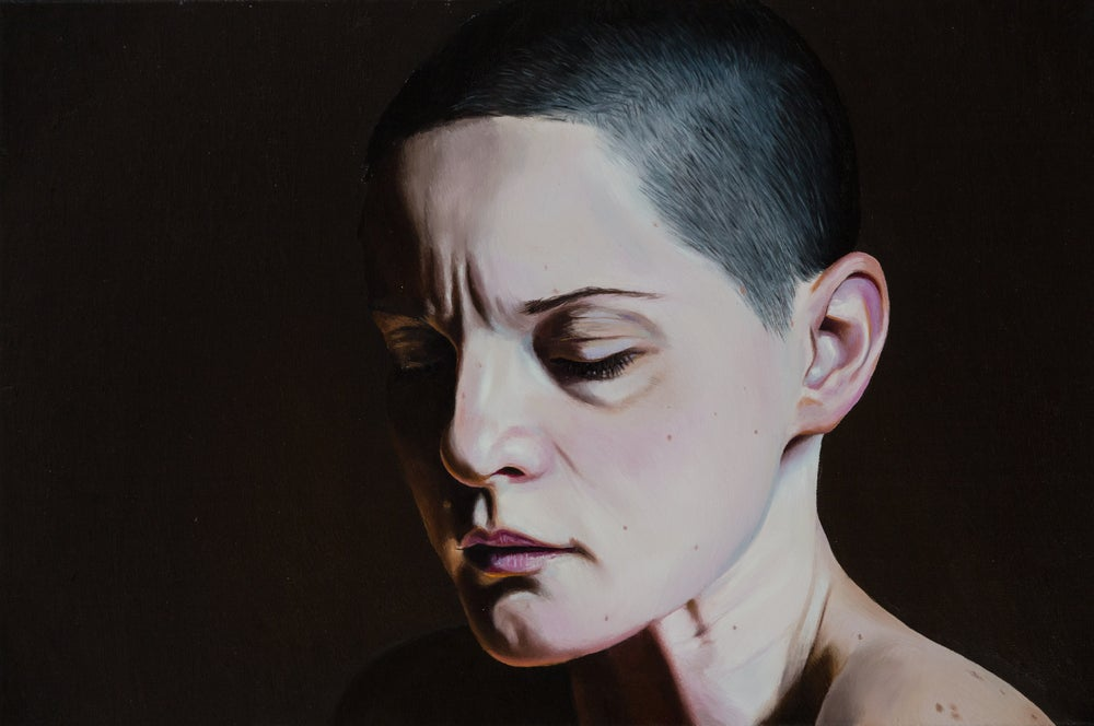 Image of Claudia Kaak, Untitled (Series 5, Nr 7), Oil on canvas, 40 x 60 cm, 2017.