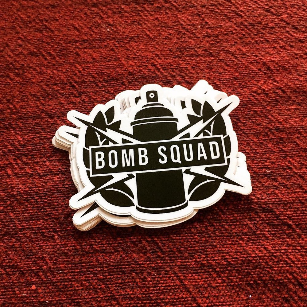 Image of Bomb Squad Stickers
