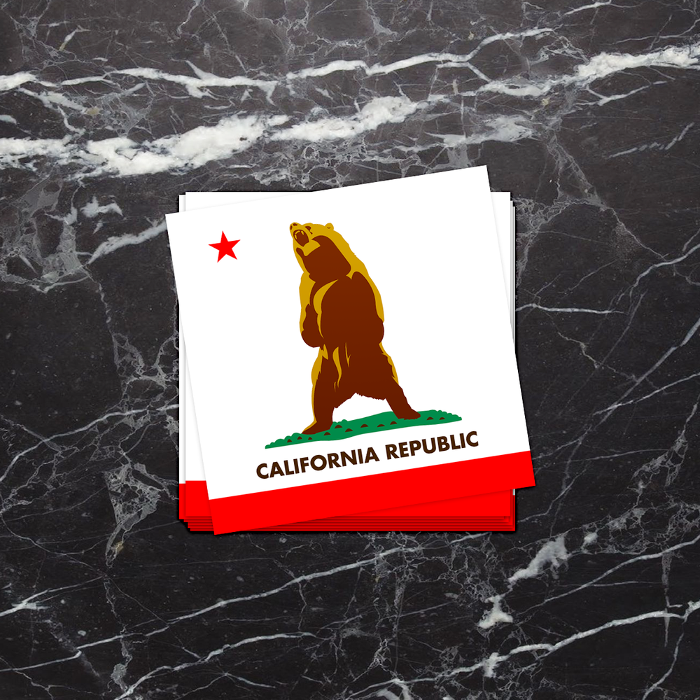 Image of Roaring California Republic Sticker
