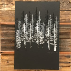 Image of Snowy Trees