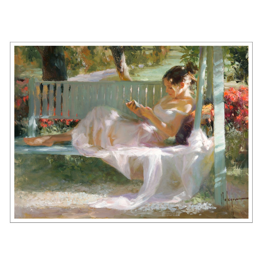 "Image of PRINT ON CANVAS ""FRENCH SWING"""