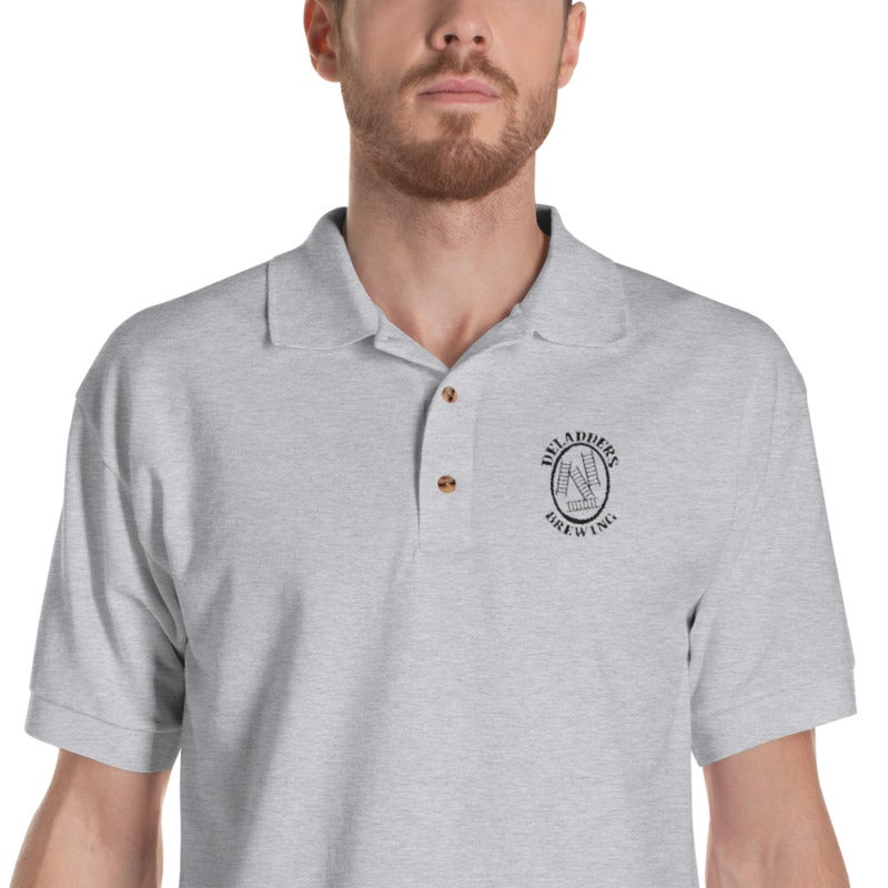 Image of Deladders Polo Shirt-Sport Grey