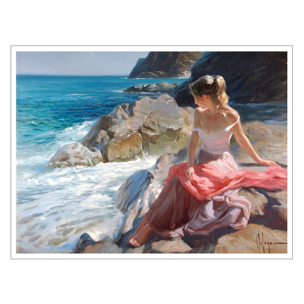 "Image of PRINT ON CANVAS ""GIRL OF MARTOSSA"""