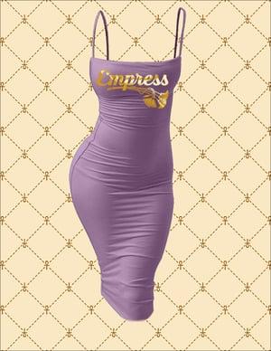 Image of Empress Spaghetti Strap Bodycon Midi Dress