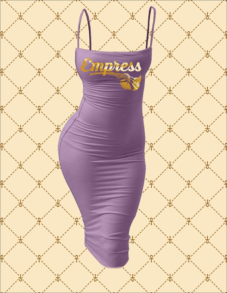 Image of Empress Spaghetti Strap Bodycon Midi Dress