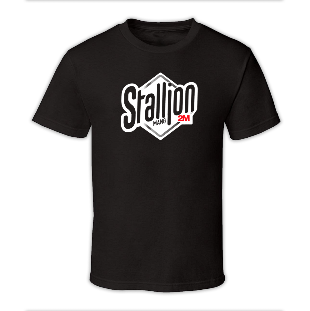 "Image of  ""Stallion"" • T-shirt • Black"