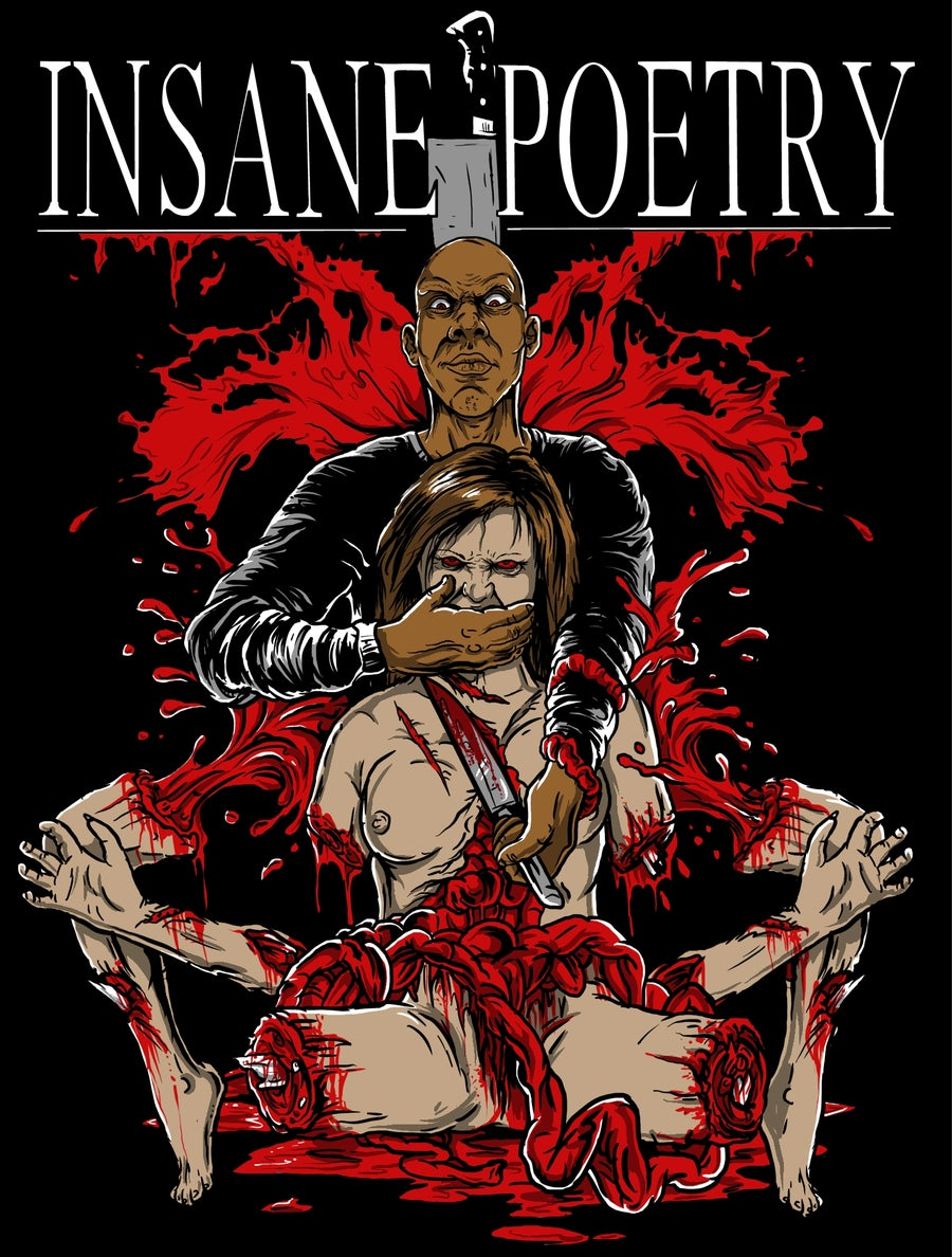 Image of INSANE POETRY : Severed Limbs Tall Tee