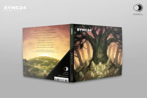 Image of Sync24 'Omnious' digipack CD