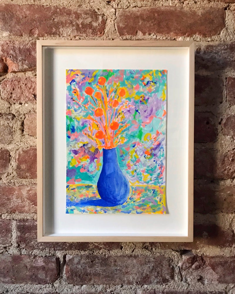 Image of Adam Turnbull - 'Painting of a vase 1'. Original artwork 2019